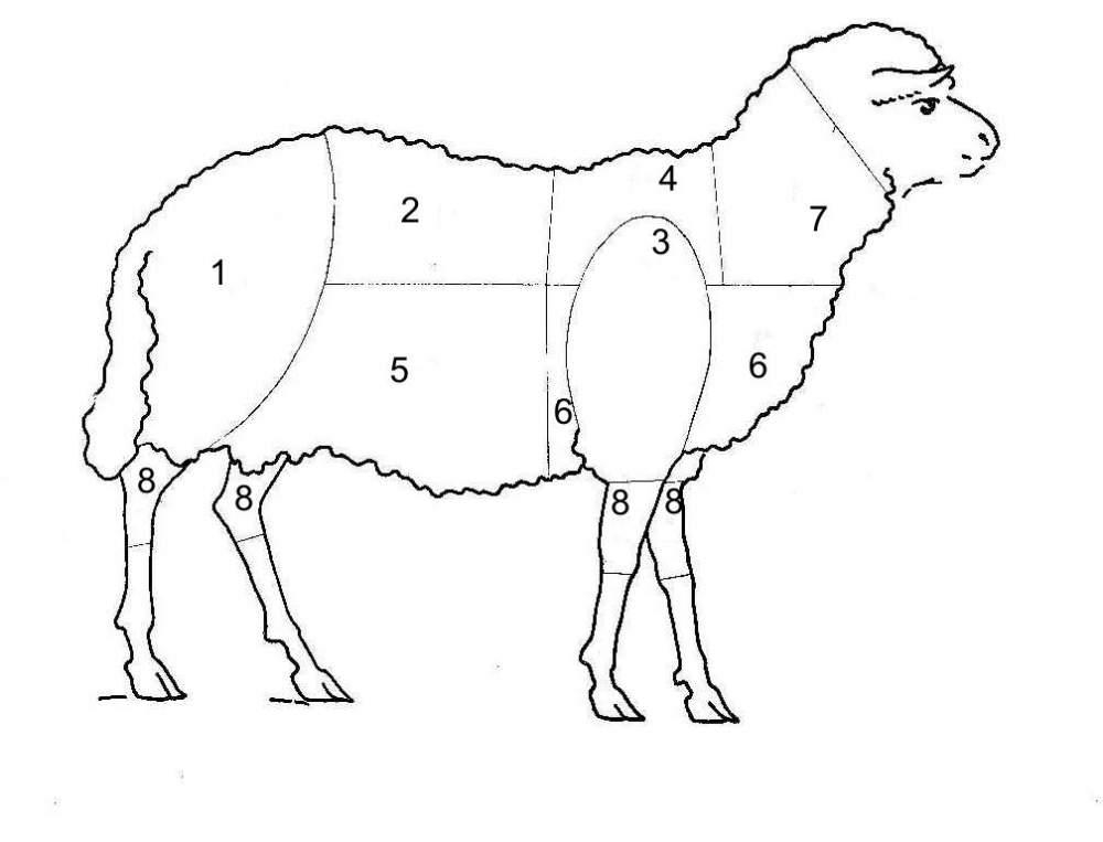 Cena skopového masa